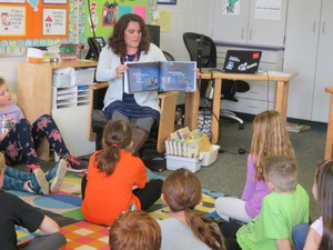 Children's author Katie Newell shares her story