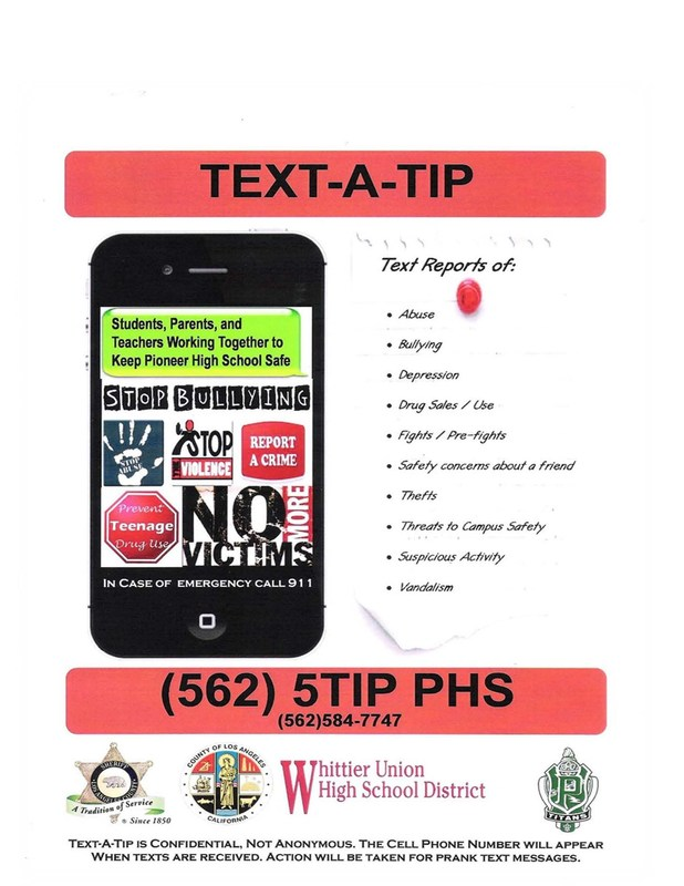 Text-A-Tip (562) 584-7747 Featured Photo