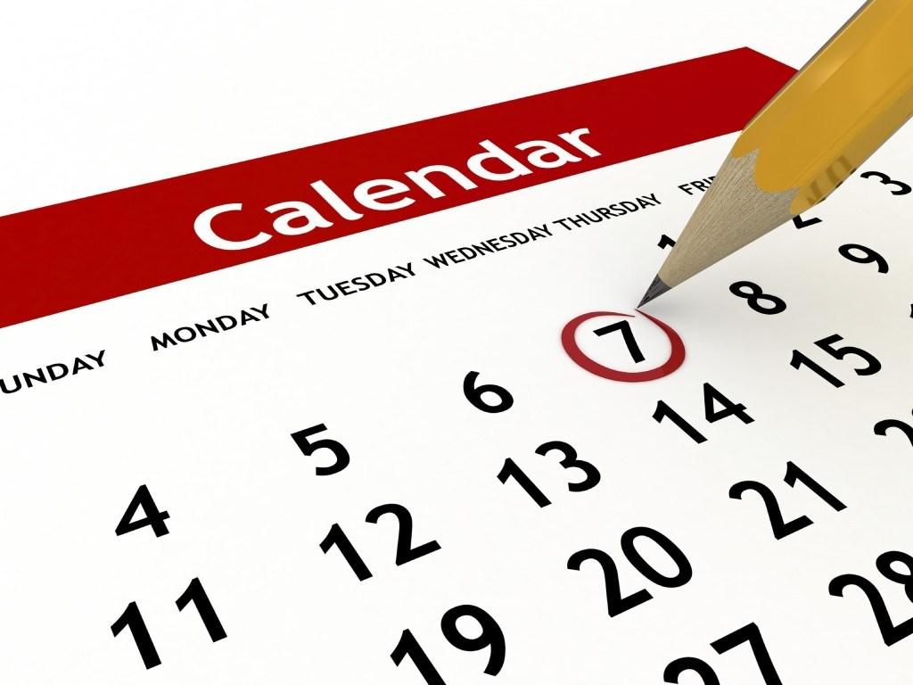 Desktop calendar. vector. place your photo or graphics. vectors ...