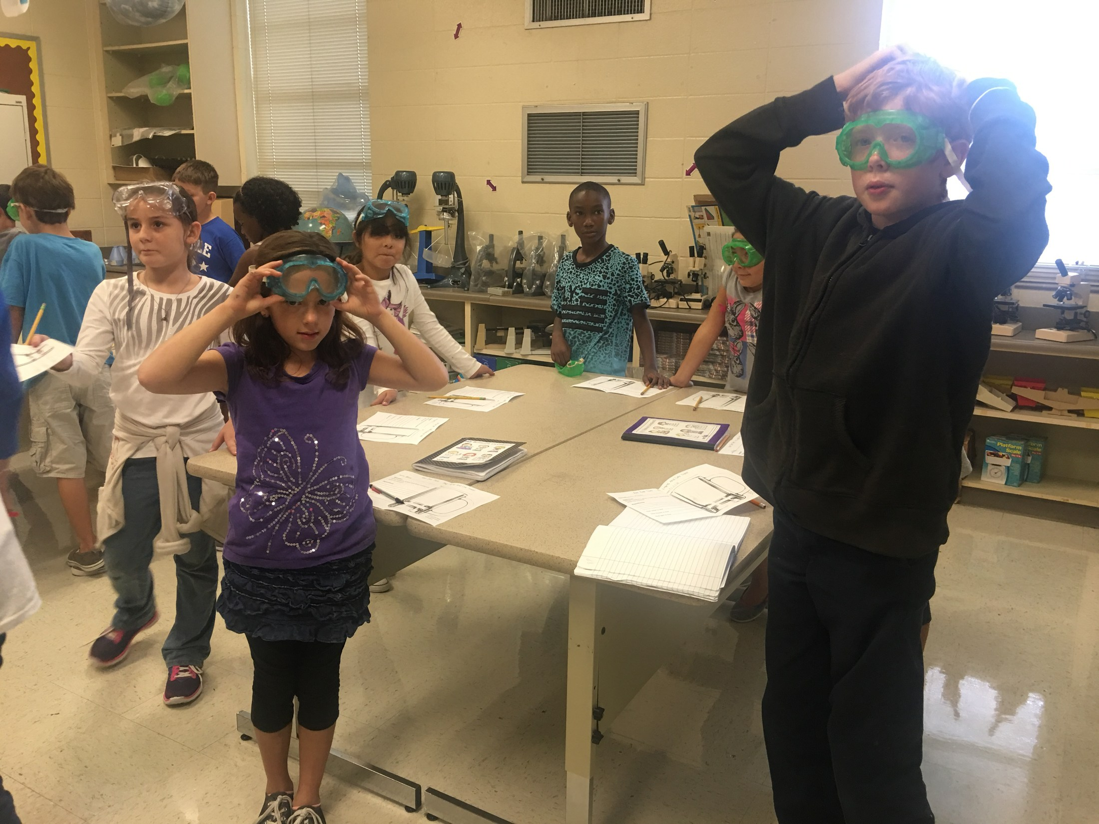 4th grade science experiment