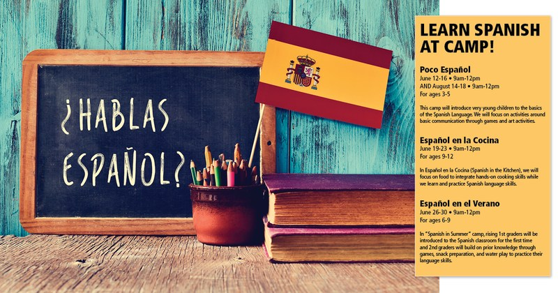 New! Try Spanish Camp this Summer Featured Photo