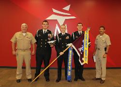 JROTC Distinguished Unit 2015 with faculty.jpg