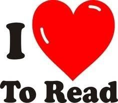 I love to read sign