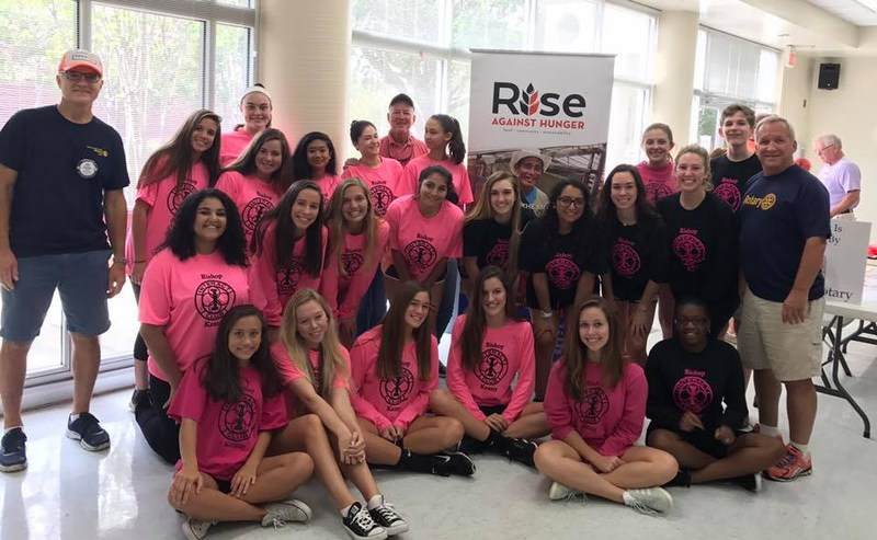 Interact Club and South Jax Rotary – Rise Against Hunger Thumbnail Image