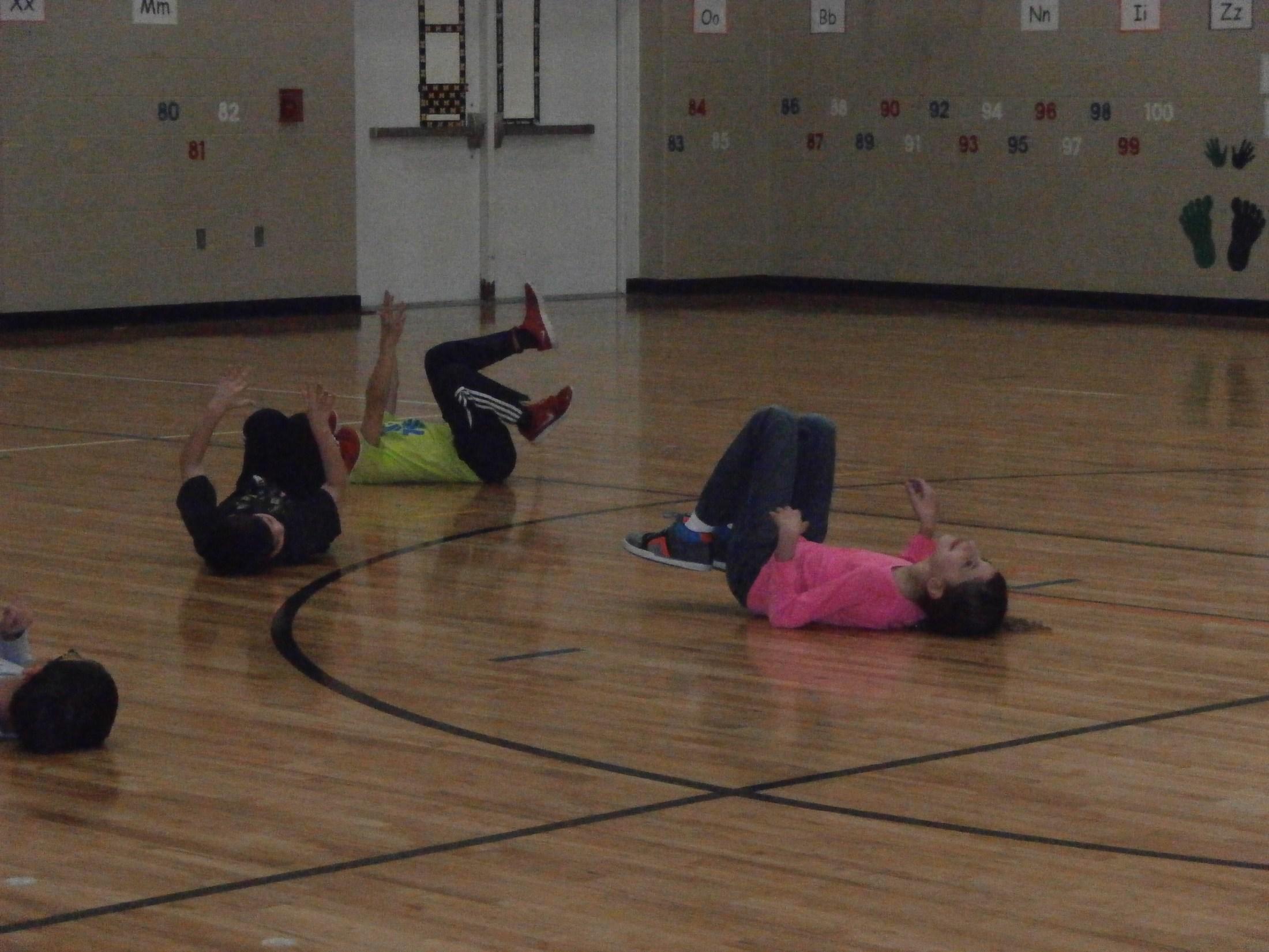 Gym fun.