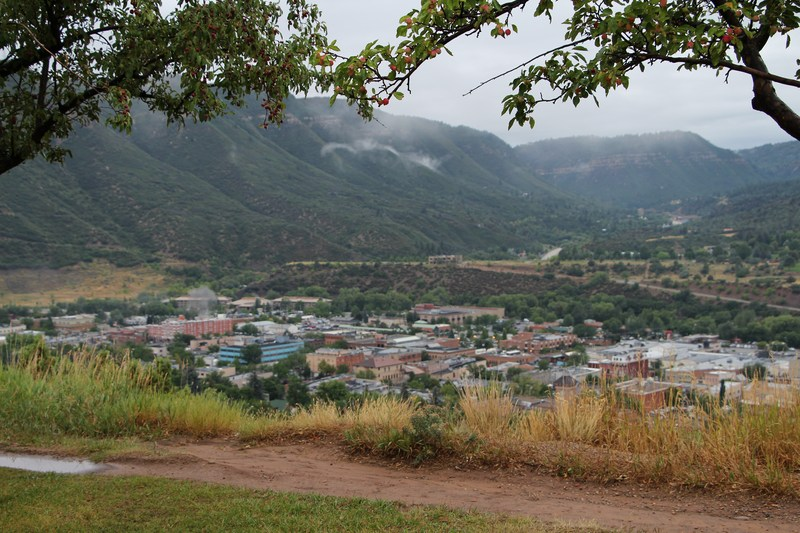 Image of Durango from Rim Dr.