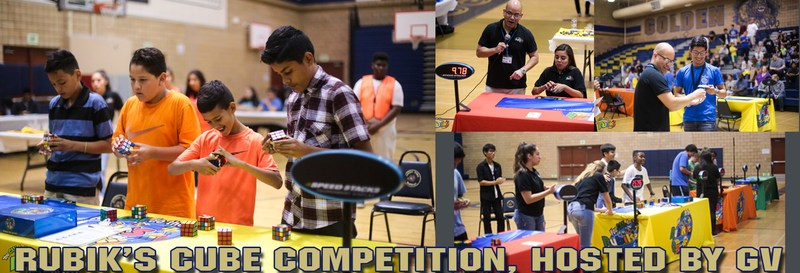 Rubik's Cube Competition hosted by GV Thumbnail Image