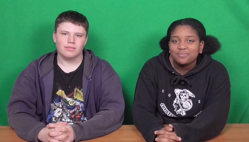 Student news broadcast