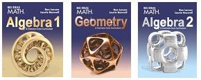 Algebra 1, Geometry, and Algebra 2 Textbooks – Math – Palos