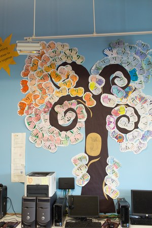 Moscow Charter School Helping Hands Kindness Tree
