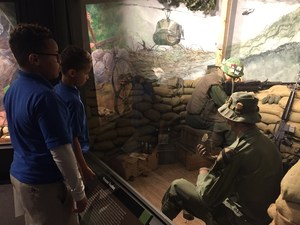 Wheatley Students at Fort Hood