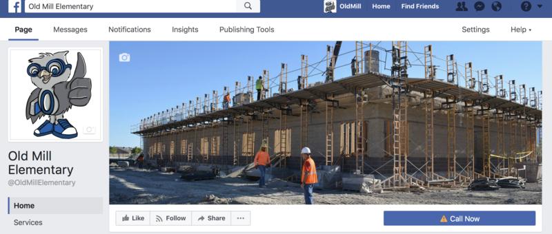 New Facebook Page Thumbnail Image