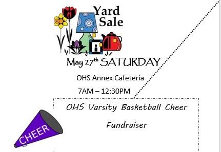 OHS Varsity Basketball Cheer Fundraiser Thumbnail Image