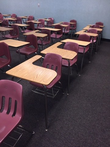 New carpet at Hemet High classrooms
