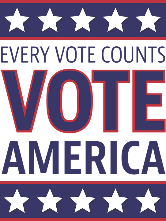 Every vote counts!  Vote, America!