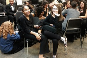 Valdosta Middle School's 7th and 8th grade concert bands performed at the LGPE Band Festival hosted at Valdosta High School.