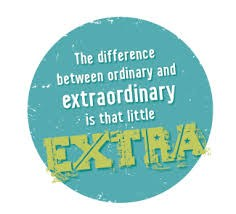 Be extraordinary sticker