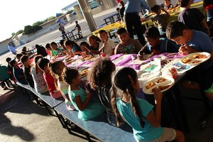 Students at the October Parent Empowerment Dinner