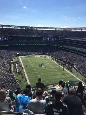 stadium shot view