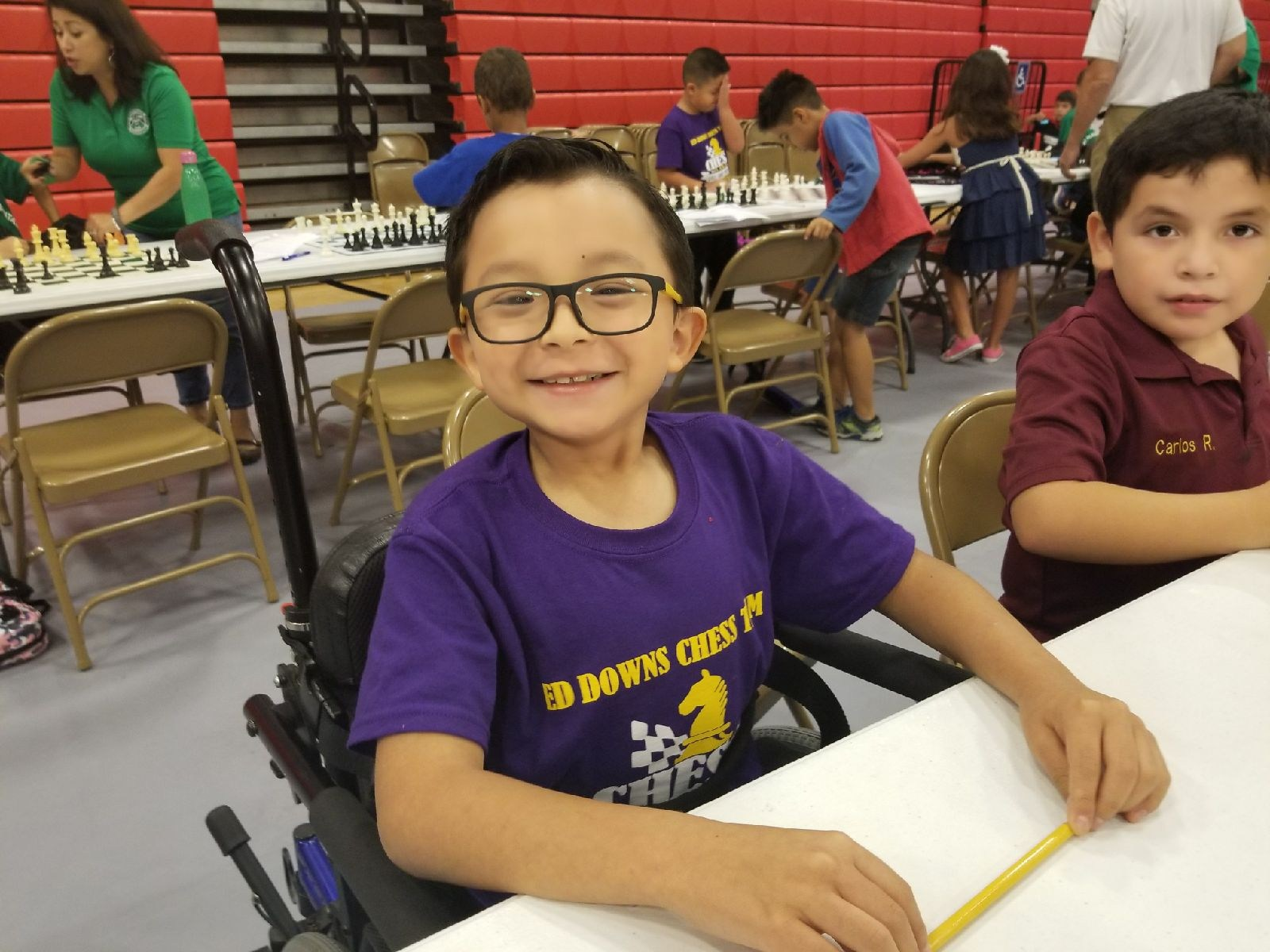 Sebatian Chapa - Chess Team Member