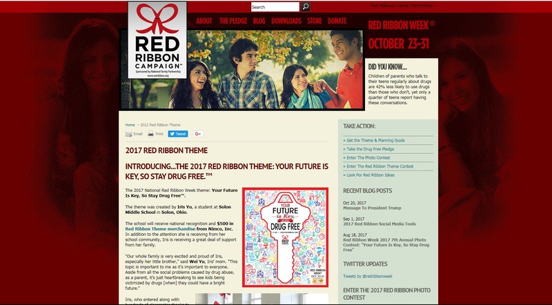 Red Ribbon Week October 23-31. Thumbnail Image