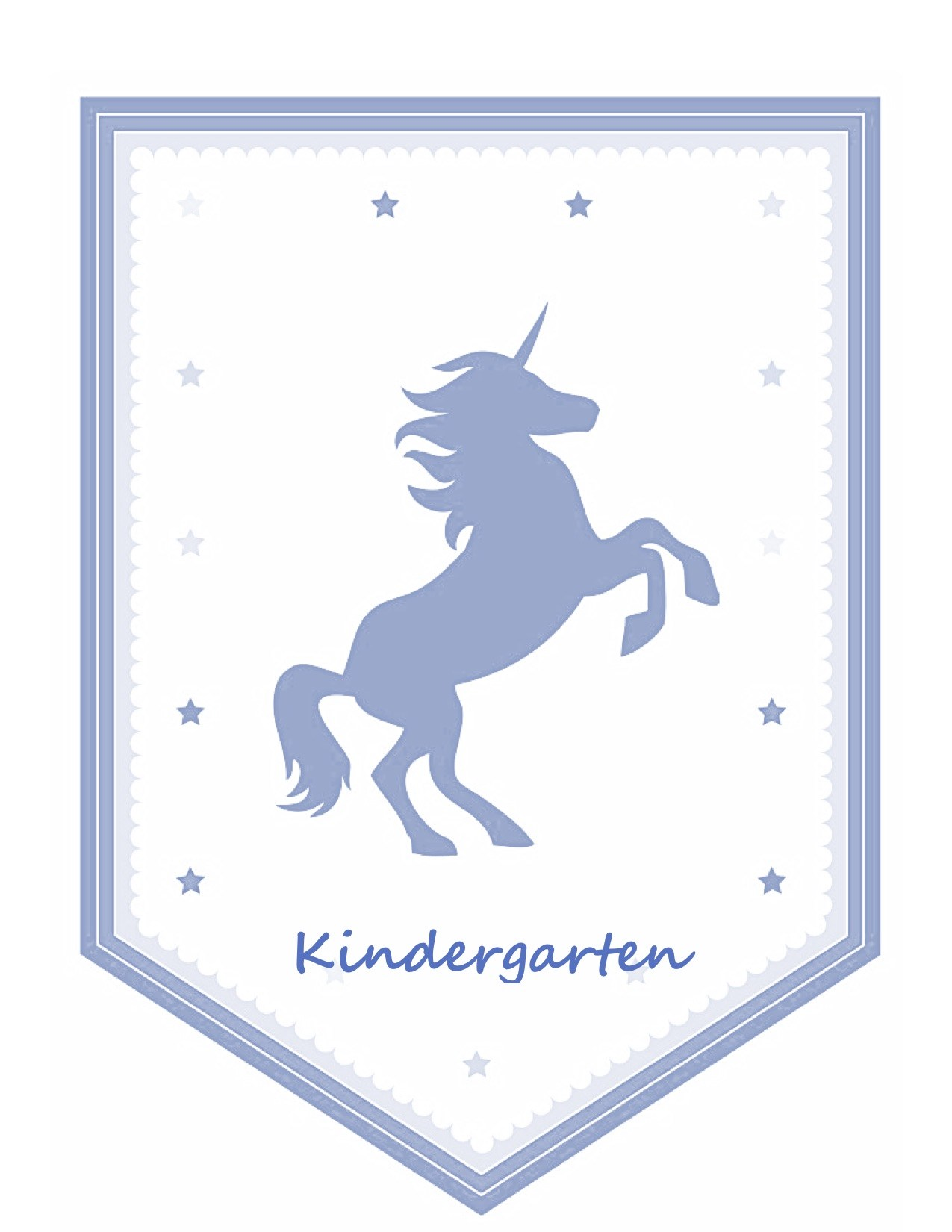 Kindergarten Unicorn