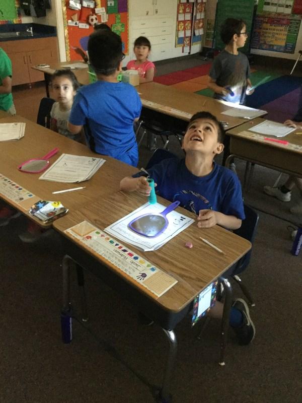 1st Grade Explores Light! Thumbnail Image