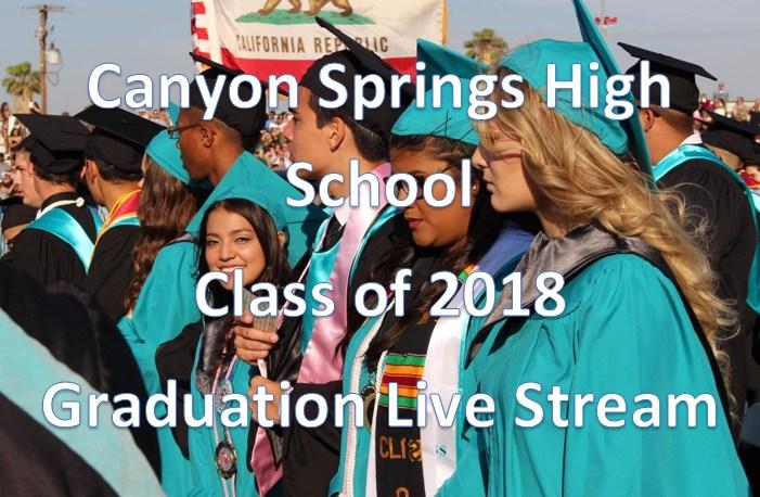 Graduation Live Stream Link
