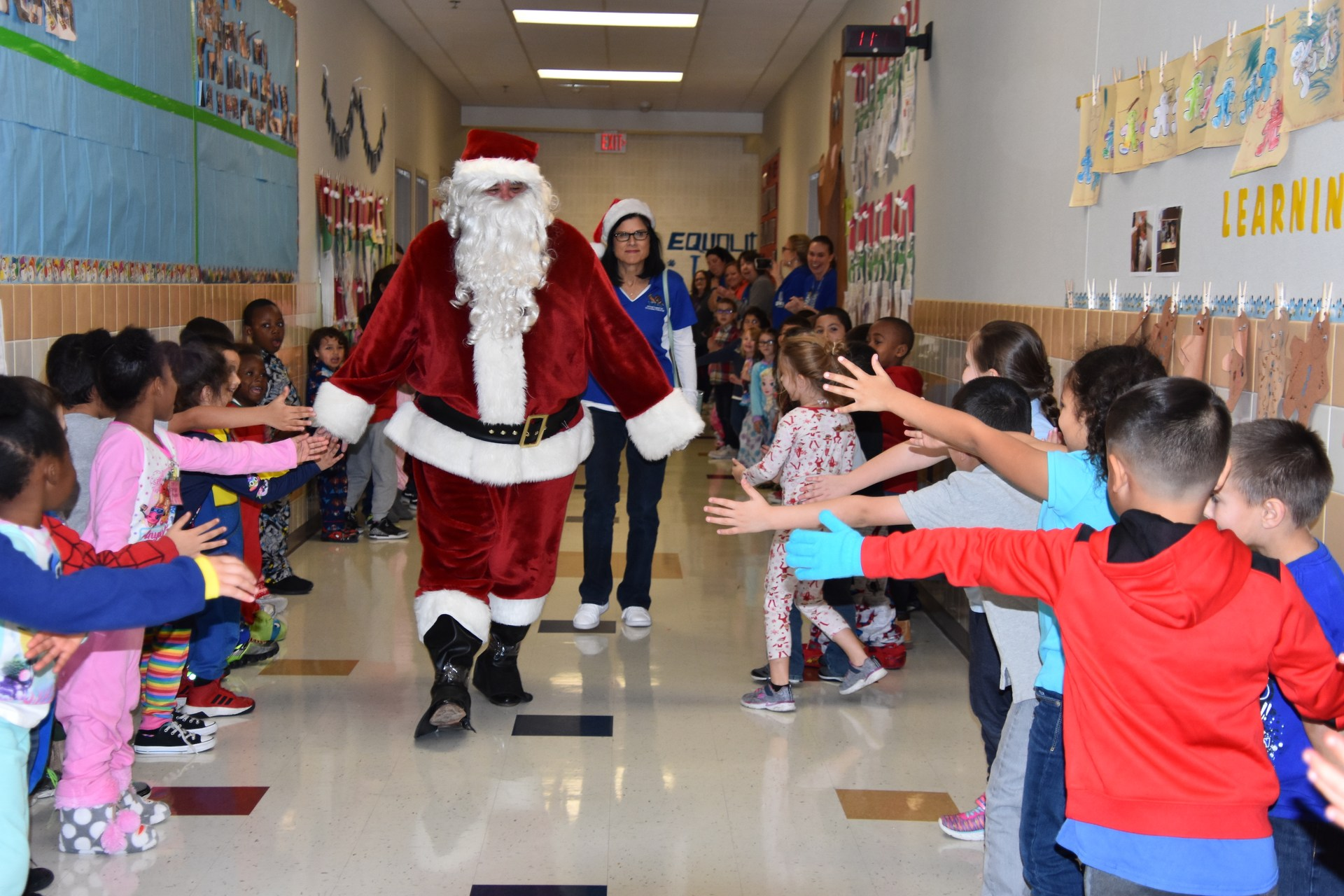 Santa and his elves surprised White Settlement ISD educators when they awarded nearly $50,000 in innovative teaching grants on Friday, Dec. 15.