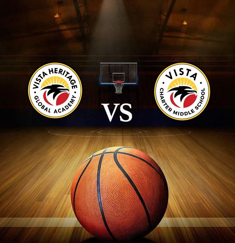 Vista Heritage vs VistaLA Basketball Game Featured Photo
