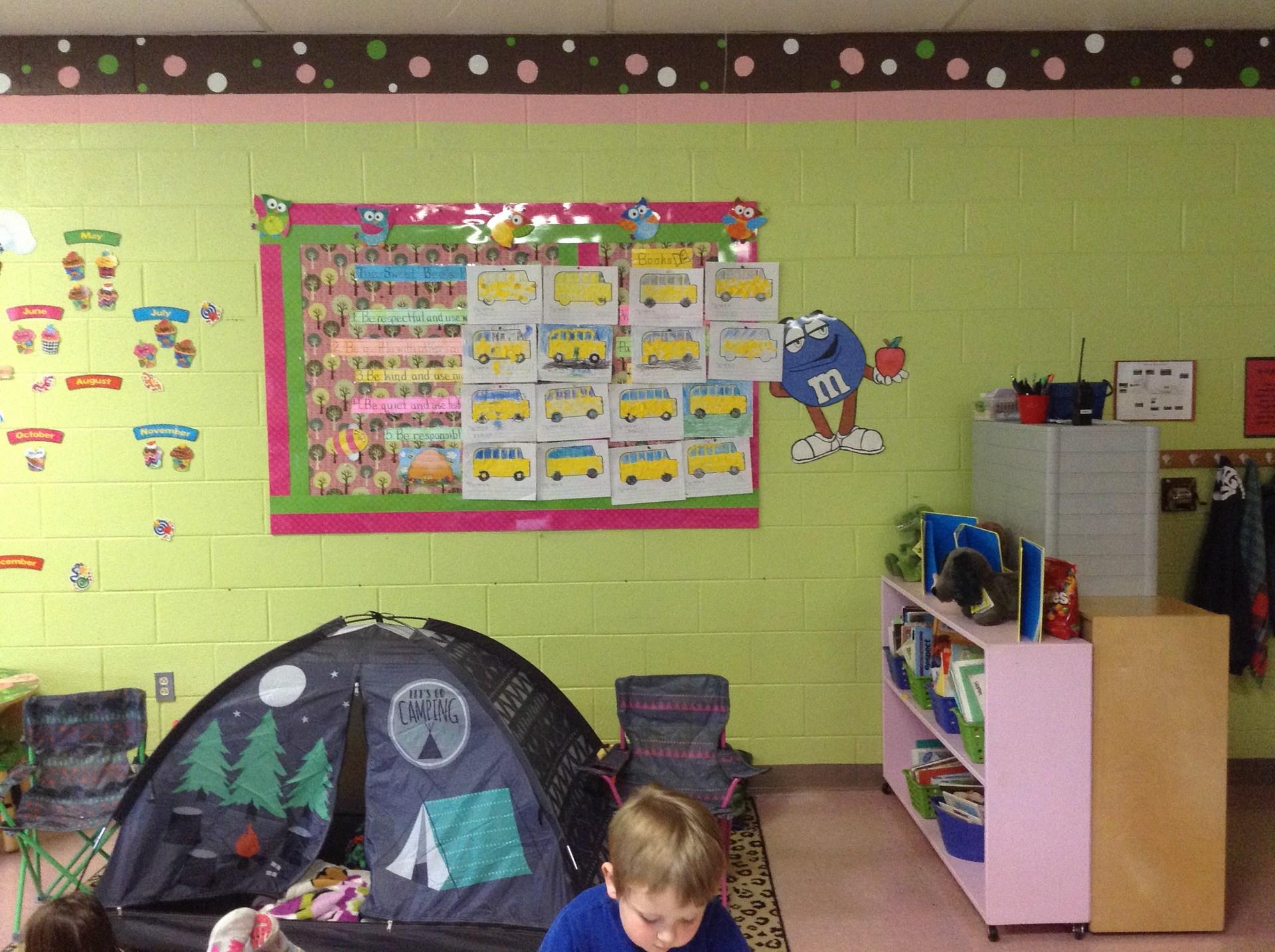 Mrs. Jones' Classroom