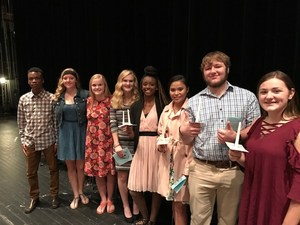 Picture of the National Honor Society Members at NCH