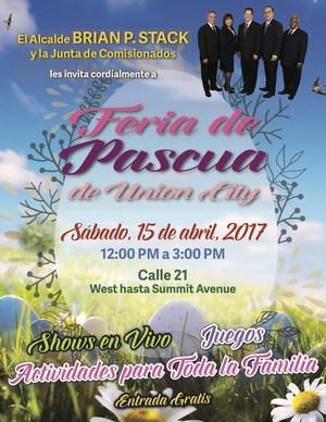 UC Easter Fair flyer Spanish