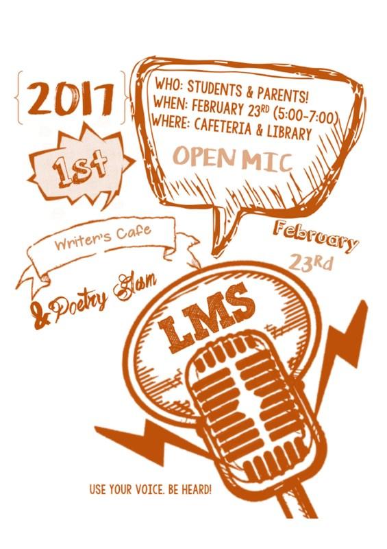 Poetry Night Feb 23