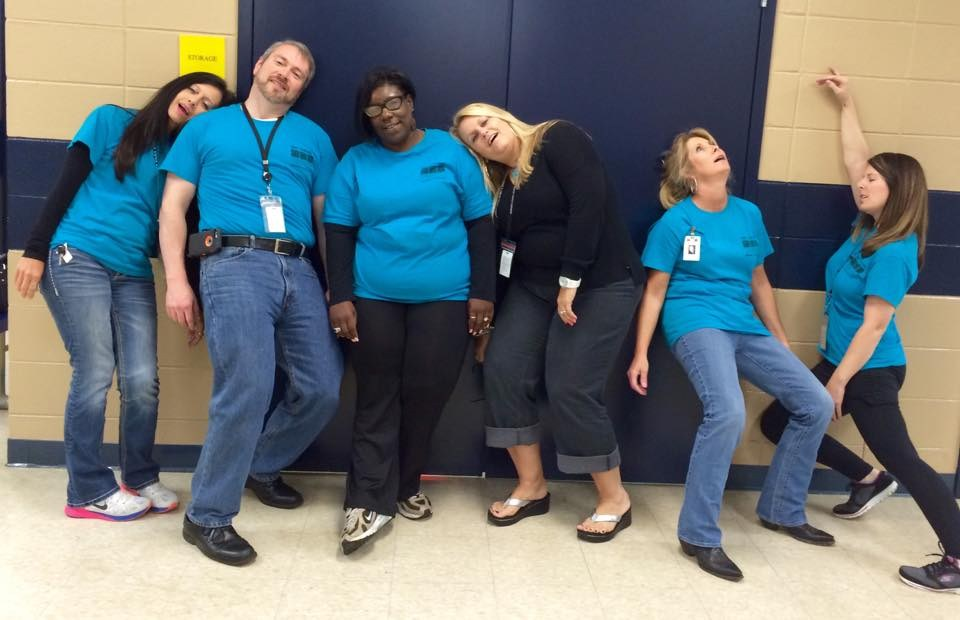 The Central Office Staff Tired After Testing
