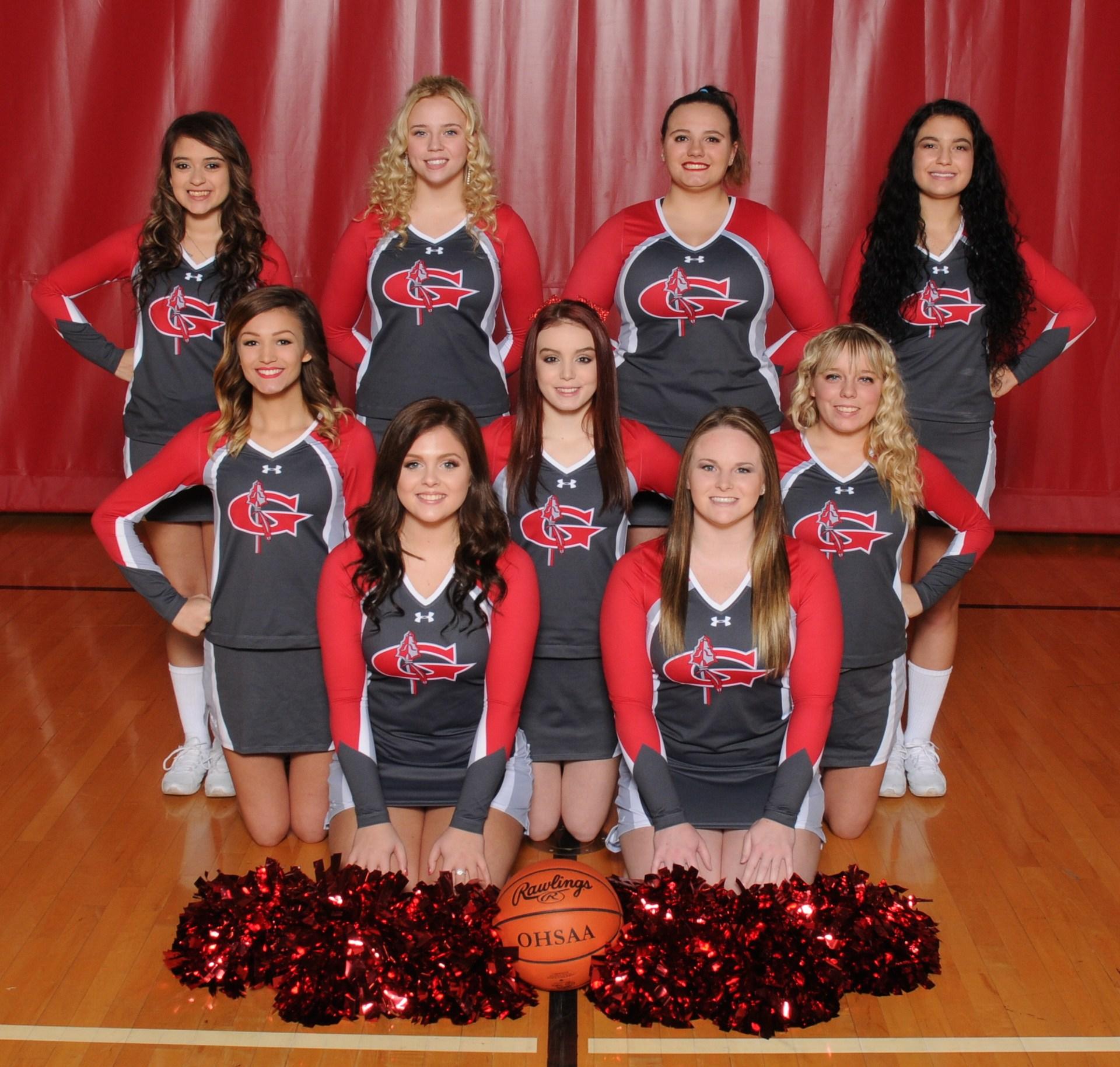 Varsity Cheer 2017-18
