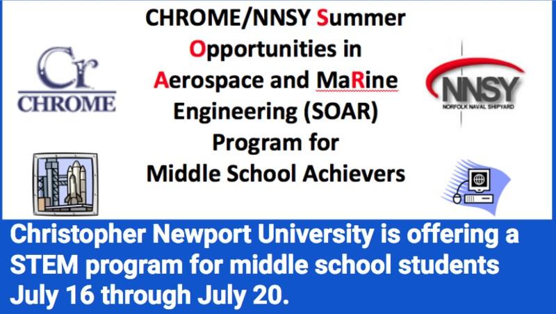 STEM Summer Program at CNU