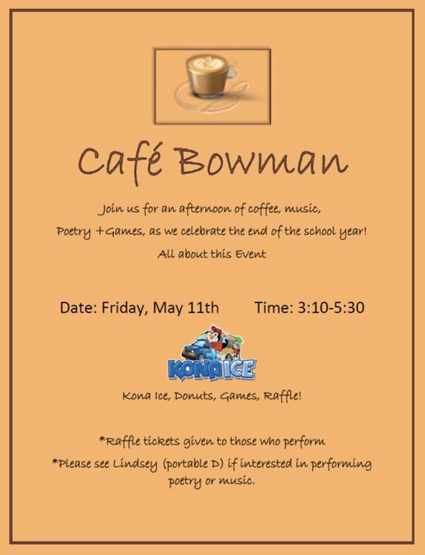 Cafe Bowman image