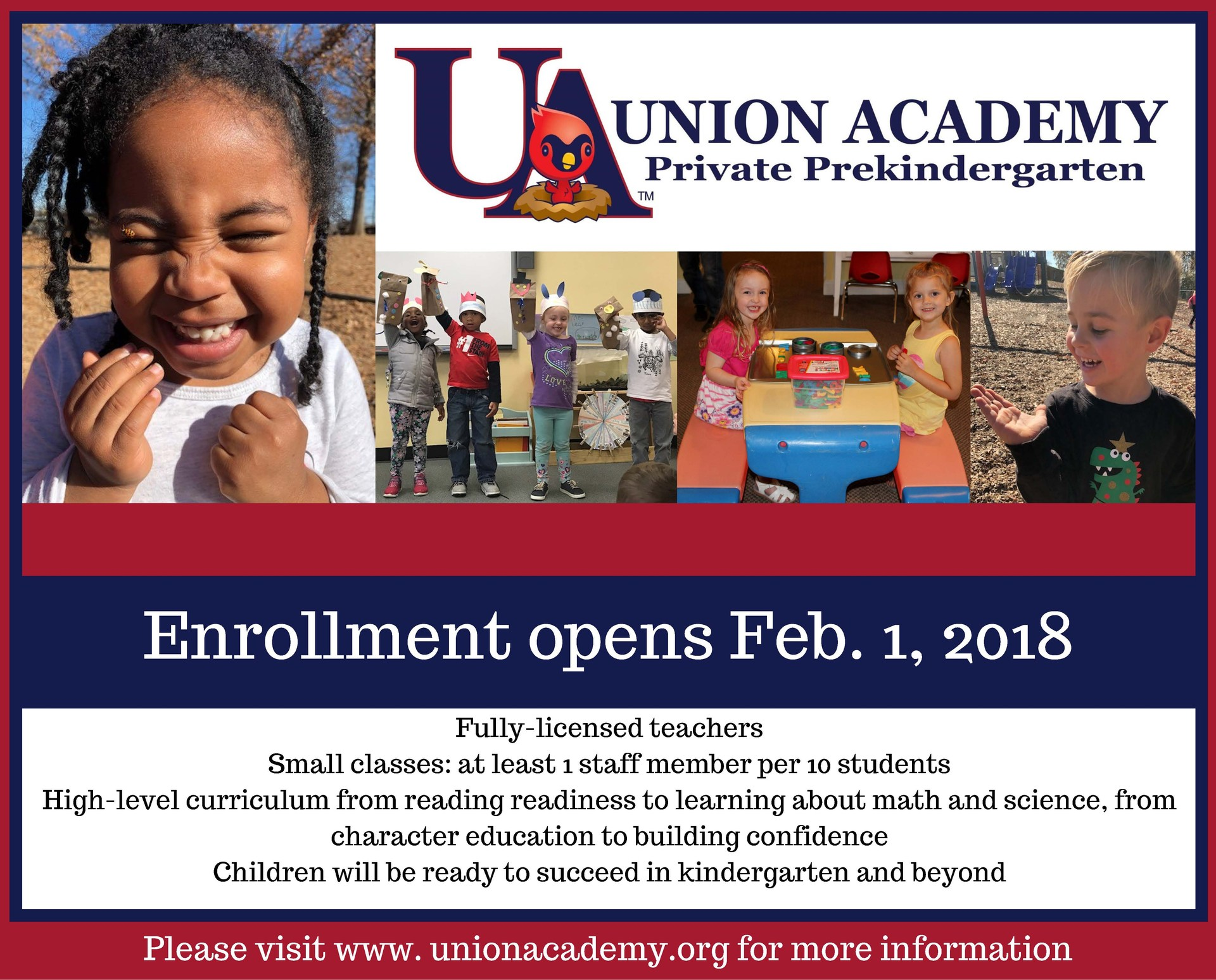 Pre-K enrollment