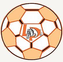 La Porte soccer ball logo
