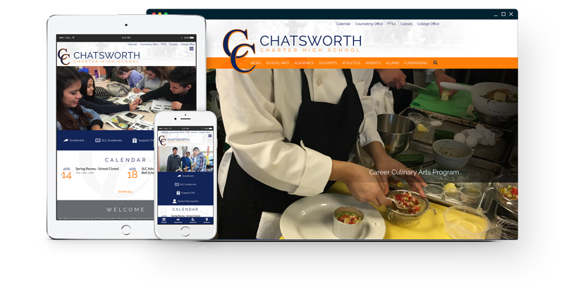 Chatsworth Charter High School Website