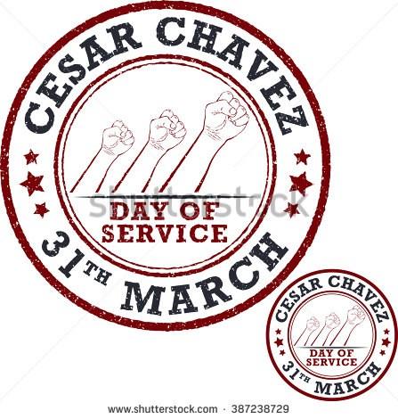 César Chávez day of service  3/31