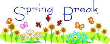 SPRING BREAK - March 12-16 Thumbnail Image