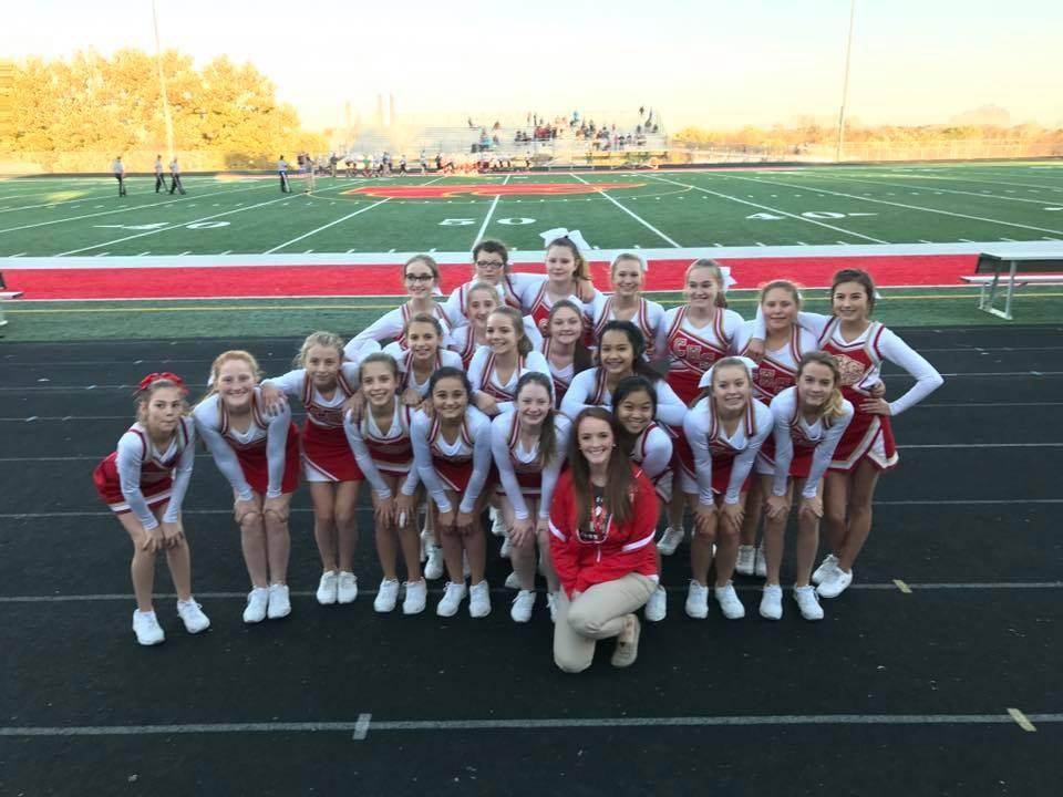 2016 Middle School Cheer
