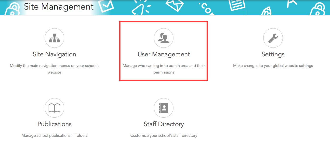 Click User Management
