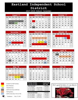 2017-2018 EISD Official School Calendar updated .jpg