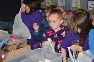 First Graders at NW Children's Outreach