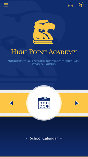 high point academy app