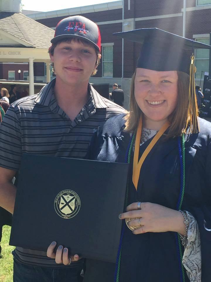 Ms. Cockrill College Graduation