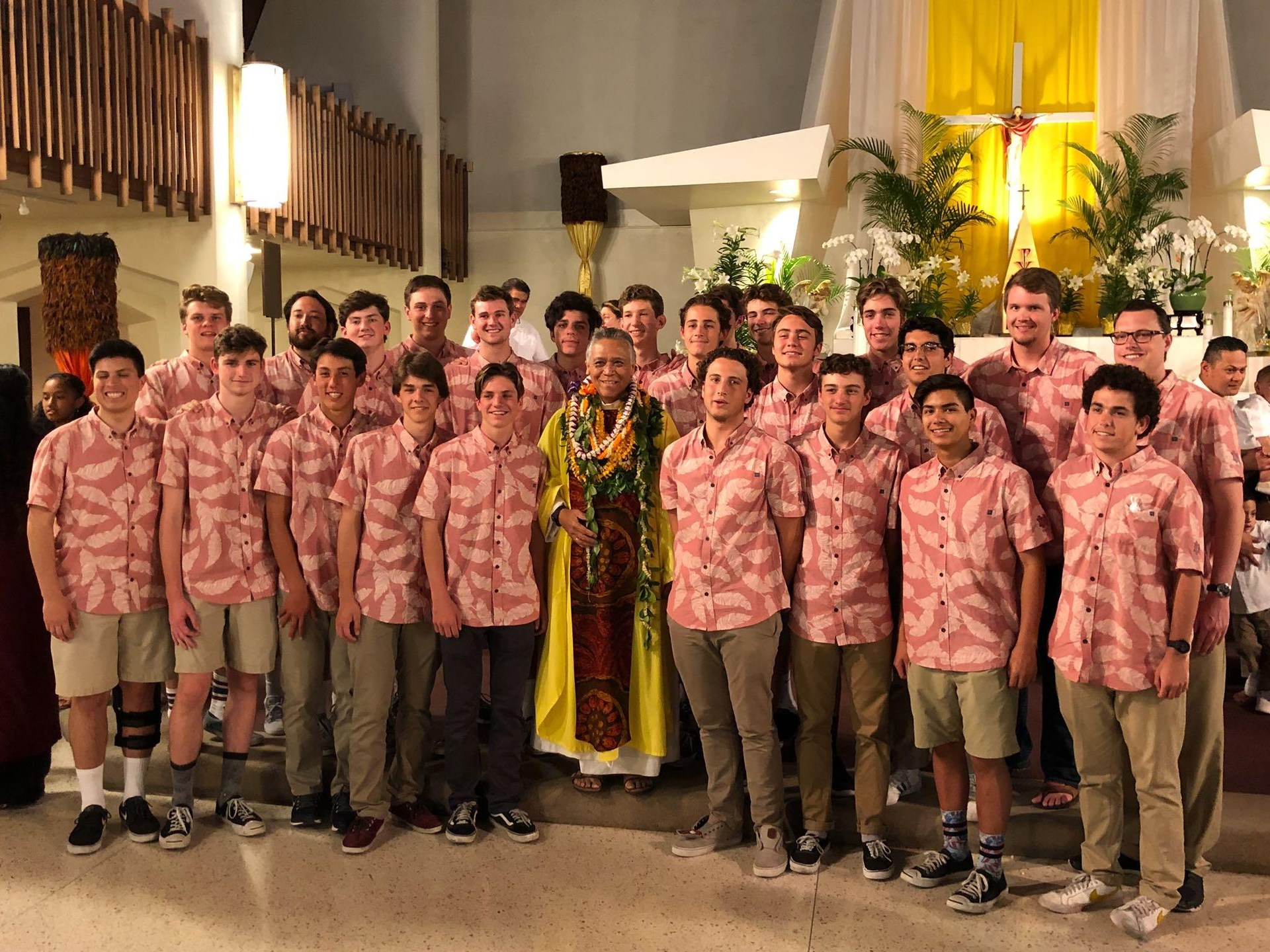 2018 Easter Mass in Hawaii